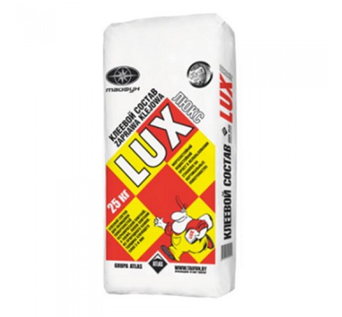 Клеевая облицовочная цементная смесь Люкс 25кг купить в Руденске