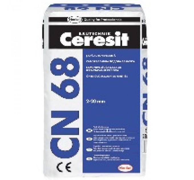 Самонивелирующаяся смесь Ceresit CN68 купить в Руденске