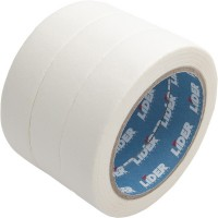 Лента бумажная малярная 25мм / 50м белая Lider