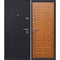 Металлическая входная дверь Йошкар с панелью Золотистый дуб