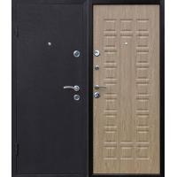 Металлическая входная дверь Йошкар с панелью Карпатская ель
