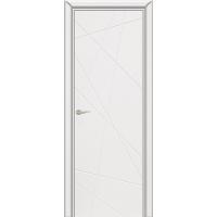Дверь межкомнатная Граффити 5 ДГ белая эмаль