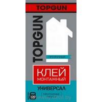 Монтажный клей универсальный прозрачный TopGun