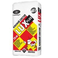 Клеевая облицовочная цементная смесь Люкс Плюс 25кг