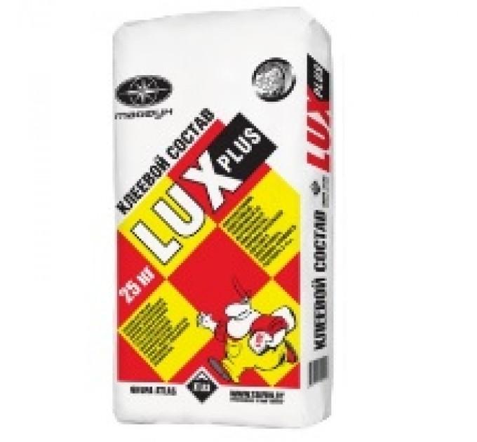 Клеевая облицовочная цементная смесь Люкс Плюс 25кг купить в Руденске