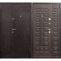 Металлическая входная дверь Йошкар Венге, 2 створки