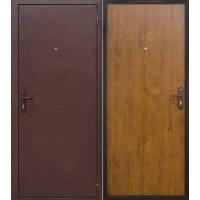 Металлическая входная дверь Стройгост 5-1 Золотистый дуб