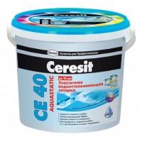 Фуга Ceresit СЕ 40 эластичная белая