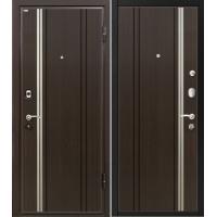 Металлическая входная дверь МеталЮр М2 венге